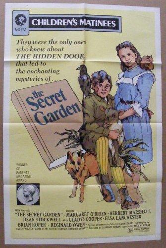 """The Secret Garden"" 1 sh Original Movie Poster Vintage 1972"