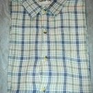Sahara Club Plaid Button Up Shirt-Mens
