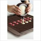 Macaroon Silicone 29x26 cm Baking Mat + Decoration Pen Set Bakery Easy Use Utensil