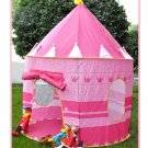 GIRLISH KIDS PLAY TENT PINK Color CASTLE PRINCESS PLAYHOUSE OUTDOOR INDOOR TENT