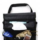 Car Use Back Seat Multiple Pocket Orangizing Hanging Bag with Tissue Box Space