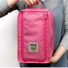 HOT PINK COLOR Multiple Use SHOE BAG Travel Use Shoe Pouch Convenient Easy Use