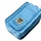 SKY Blue COLOR Multiple Use SHOE BAG Travel Use Shoe Pouch Convenient Easy Use