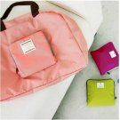 PINK Color Multiple Use Fold-able Travel Bag Good for Shopping & Daily Use Bag