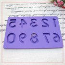 Number Fondant and Gum 0-9 Set Alphabet Letter Number Paste Mold