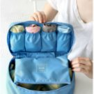 SKY Blue Color Travel Use Multiple Pocket Packing Pouch Good for Underwear
