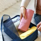 Packing Squares 40 X 30 x 13 cm NAVY BLUE Color Multiple Organizing Easy Use Fold-able Travel Pouch