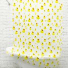 YELLOW Cute DUCKLING Milky White PEVA 180 x 180 cm Bathroom Use SHOWER CURTAIN