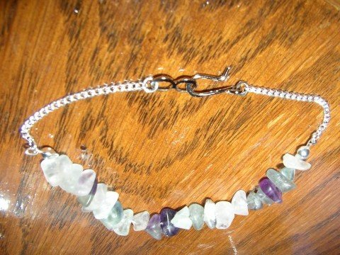 Mid Purple Chips Bracelet