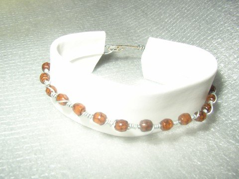 Brown Twist Bracelet