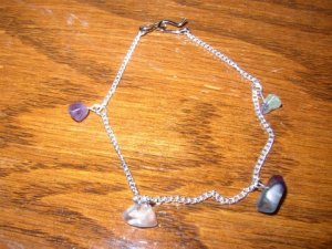 Purple Chips Bracelet
