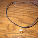 Two Tone Orange Necklace