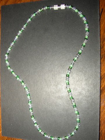 Green Seed Necklace