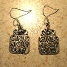 Earrings Tibetan Silver Girls Night Out Charm Pierced Dangle NEW #484