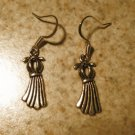 Earrings Pierced Tibetan Silver Dress Charm NEW #480