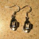 Earrings Pierced Tibetan Silver Hat Charm NEW #707