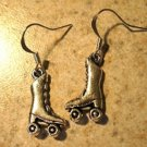 Earrings Tibetan Silver Skates Charm Pierced Dangle NEW #716