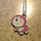 Pink Doraemon Necklace & Pendant New #645