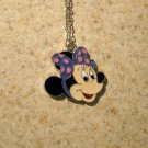 Adorable Polka Dot Minnie Mouse Child Necklace & Pendant New #654