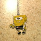 Adorable Yellow Sponge Bob Child Necklace & Pendant New #649