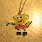 Yellow Sponge Bob Child Necklace & Pendant New #584
