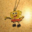 Yellow Sponge Bob Child Necklace & Pendant New #584