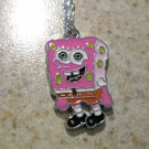 Pink Sponge Bob Child Necklace & Pendant New #650