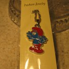 Red and Blue Smurf Necklace & Pendant New #345