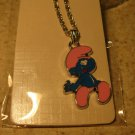 Pink and Blue Smurf Necklace & Pendant New #342