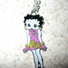 Pink Flower Dress Betty Boop Necklace & Pendant New #763
