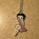 Pink Swimsuit Betty Boop Necklace & Pendant New #755