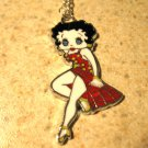 Red Swimsuit Betty Boop Child Necklace & Pendant New #635