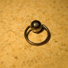 Body Piercing Jewelry 1/2 in Blue Topaz Captives HOT! #824A