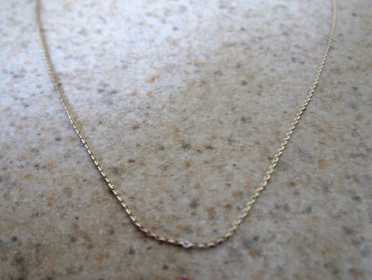 Delicate Necklace 18 Inch Sterling Silver Chain NEW #T112