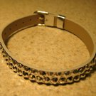Silver Metallic Bling Rhinestone Bracelet NEW #320