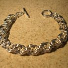 Bracelet Silver Plated Highly Polished Chain Link NEW #662