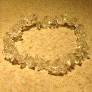 Clear Ice Crystals Gemstone Bangle Bracelet HOT! #298