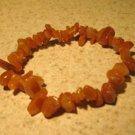 Orange Aventurine Gemstone Bangle Bracelet HOT! #399