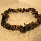 Genuine Tiger Eye Gemstone Bangle Bracelet HOT! #896