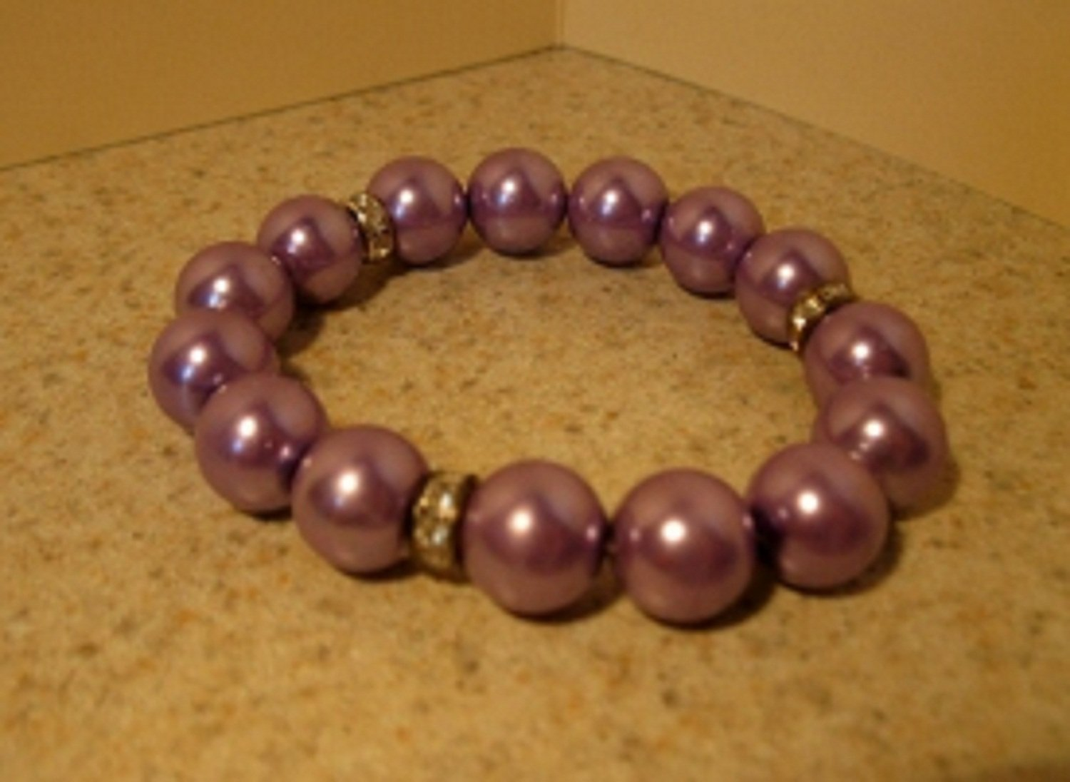 Bracelet Lavender 7-8mm Pearl Stretch #808