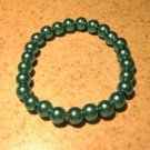 Aqua Pearl Bangle Bracelet New #531