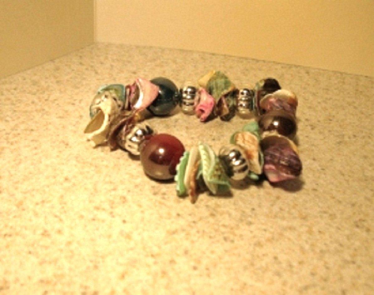 Bracelet Multi Color Shell Bangle NEW & HOT! #464