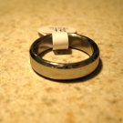Brushed Silver Wedding Band Ring Unisex Size 6.5 New #500