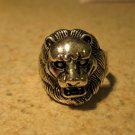 Tibetan Silver Lion Head Ring Unisex Size 9 HOT! #131