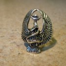 Tibetan Silver Eagle Ring Size 8 HOT! #786