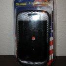 Silver & Black Snap on Plastic Case Blackberry 8530 Phone New & Sealed #D155