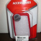 Red Snap on Silicone Case For OEM Blackberry 9650 Phone New & Sealed #D129