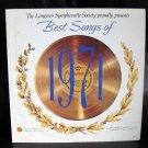Vinyl LP Longines Symphonette Best Songs Of 1971 #19D