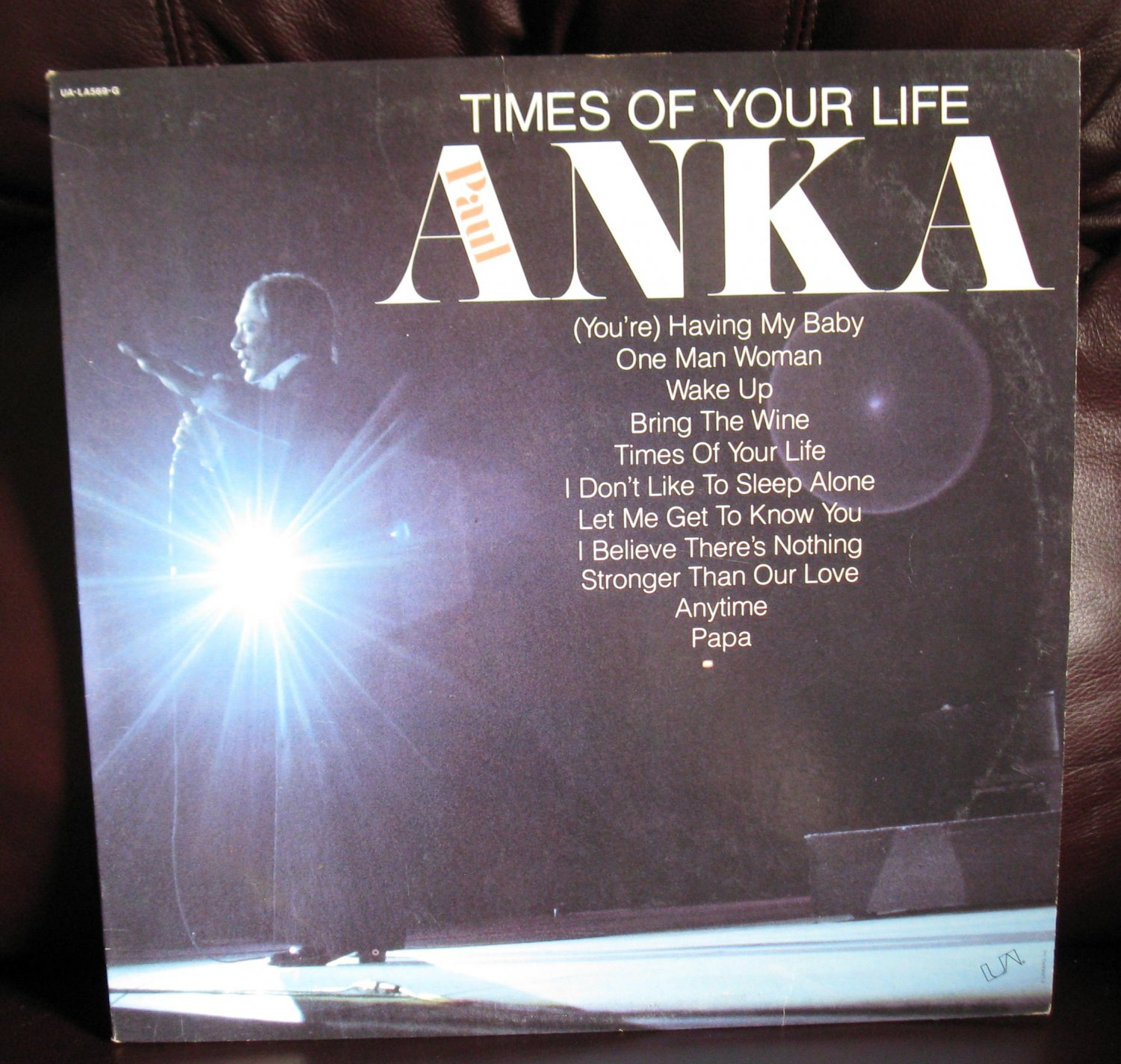 Vinyl LP Album Paul Anka Times Of Your Life #16A