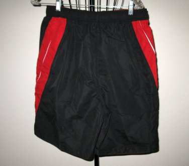 Men�s Black With Red Trim Swimsuit by Graphite Size M (Medium) New! #T847